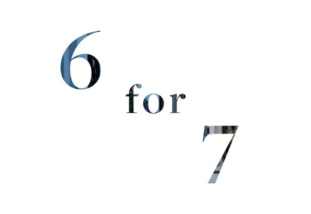 6 for 7 header