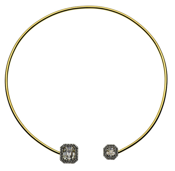 Jemma Wynne 18kt Gold And Diamond Choker
