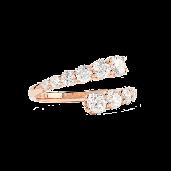 Anita Ko - Twist 18-karat Rose Gold Diamond Ring