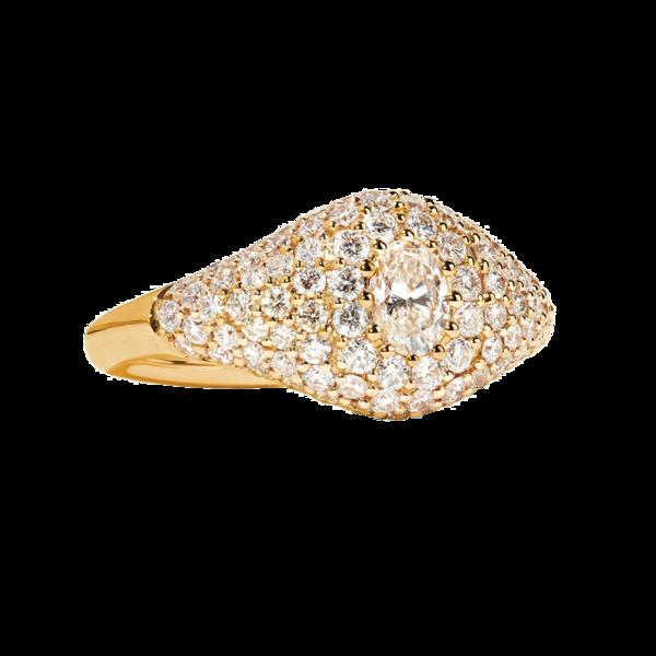 Jemma Wynne - 18-karat Gold Diamond Ring