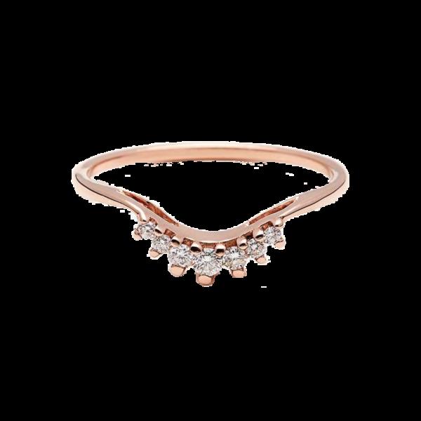 Anna Sheffield 'Luna Tiara' Diamond Ring