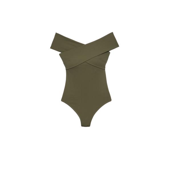 ALIX Wooster Bodysuit in Fern