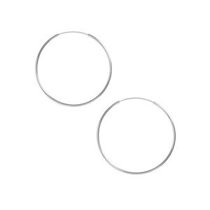 Argento Vivo Tube Hoop Earrings