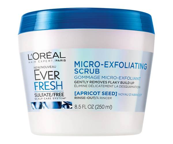 L'Oréal Paris Hair Expert/Paris Ever Fresh Rinse Out Apricot Seed Micro Exfoliating Scrub
